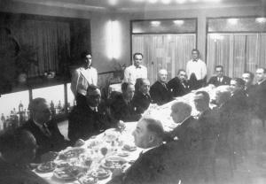 Jantar de homenagem ao escritor Joaquim Paço d'Arcos (Ponta Delgada, 8 de março de 1949)