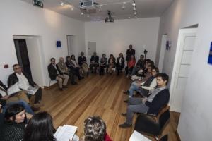 Aspeto da assistência ao evento (Fotog. © Manuel Aguiar)
