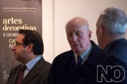 Gonçalo de Vasconcelos e Sousa, Henrique de Aguiar de Oliveira Rodrigues e Pedro Pascoal de Melo (Fotog. © NO Revista)