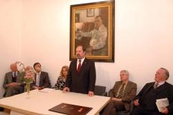 Mesa de honra, com Henrique de Aguiar Oliveira Rodrigues, José Andrade, Anabela Ribeiro, José Contente, Jorge Paulus Bruno e Nuno Dempster