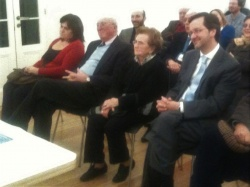 Sessão de homenagem a Fernando Aires, aspeto da assistência