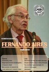 Sessão de homenagem a Fernando Aires