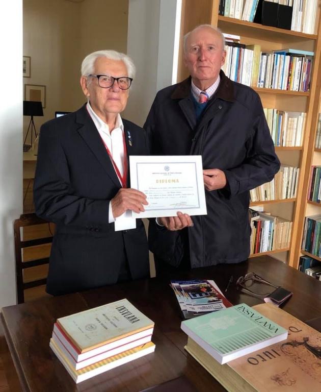Prof. Doutor Nereu do Vale Pereira nomeado sócio-honorário do Instituto Cultural de Ponta Delgada
