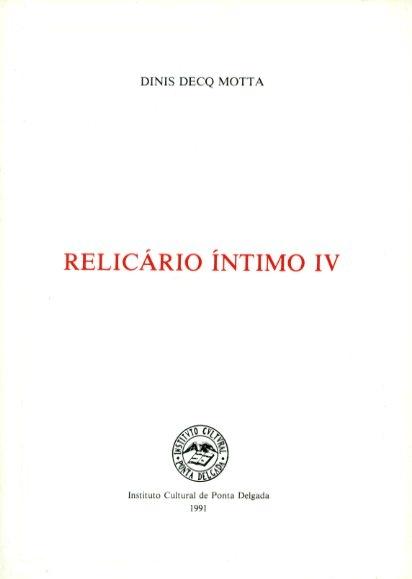 RELICÁRIO ÍNTIMO - IV
