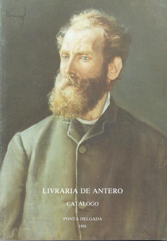 CATÁLOGO DA LIVRARIA DE ANTERO DE QUENTAL