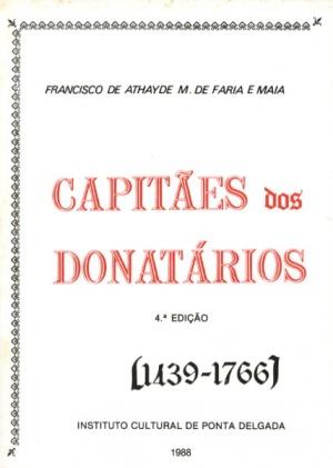 CAPITÃES DOS DONATÁRIOS (1439-1766): SUBSÍDIOS (...)