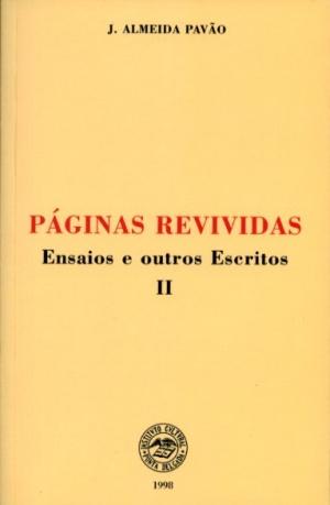 PÁGINAS REVIVIDAS: ENSAIOS E OUTROS ESCRITOS - II