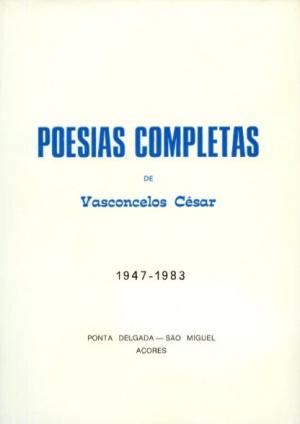 POESIAS COMPLETAS DE VASCONCELOS CÉSAR (...)